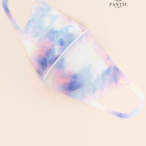 Adult Mask Pink And Purple Tie Dye