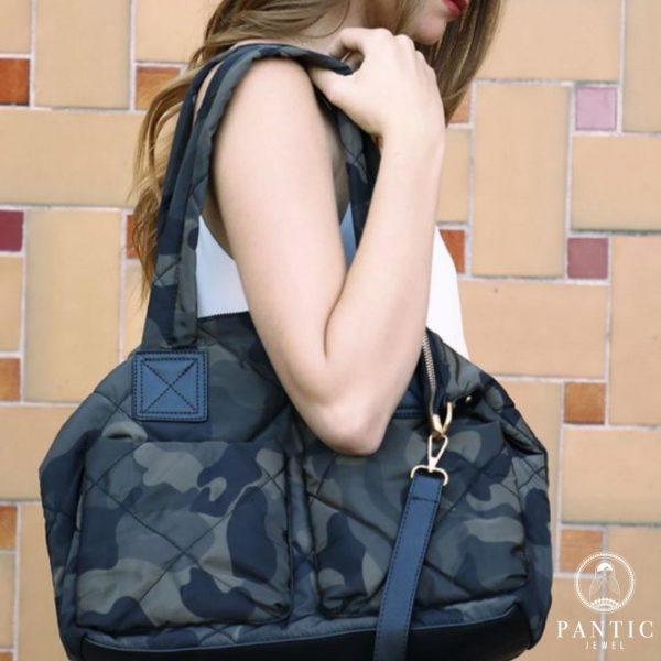 Puffer Camo Tote Bag for sale in America