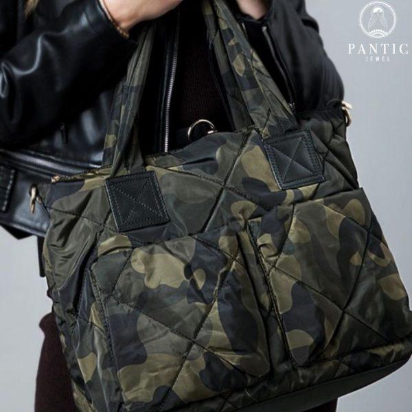 Camo tote bag for sale in California