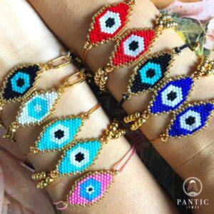 Bracelets Evil Eye Cord (Colors)