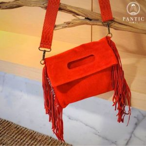 Suede Fringes Bag