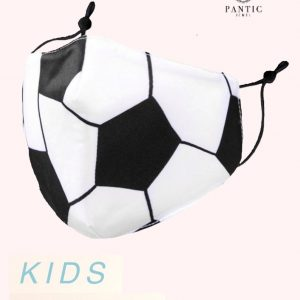 Cotton Soccer Kid Mask