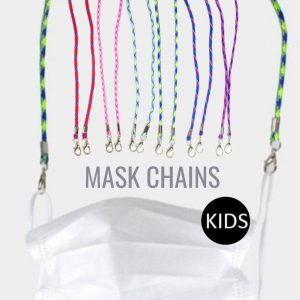 Patterned Cord Kids Mask Chains